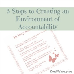 creating accountability in kids