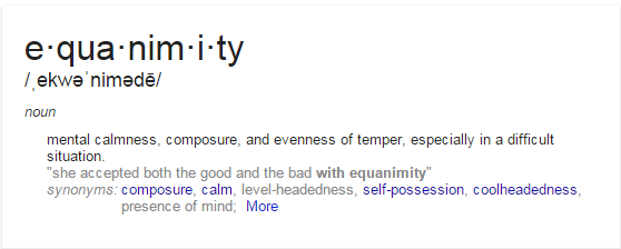 what is equanimity