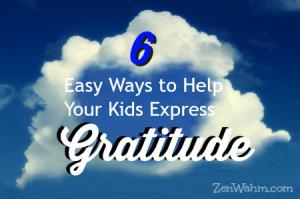 help kids express gratitude