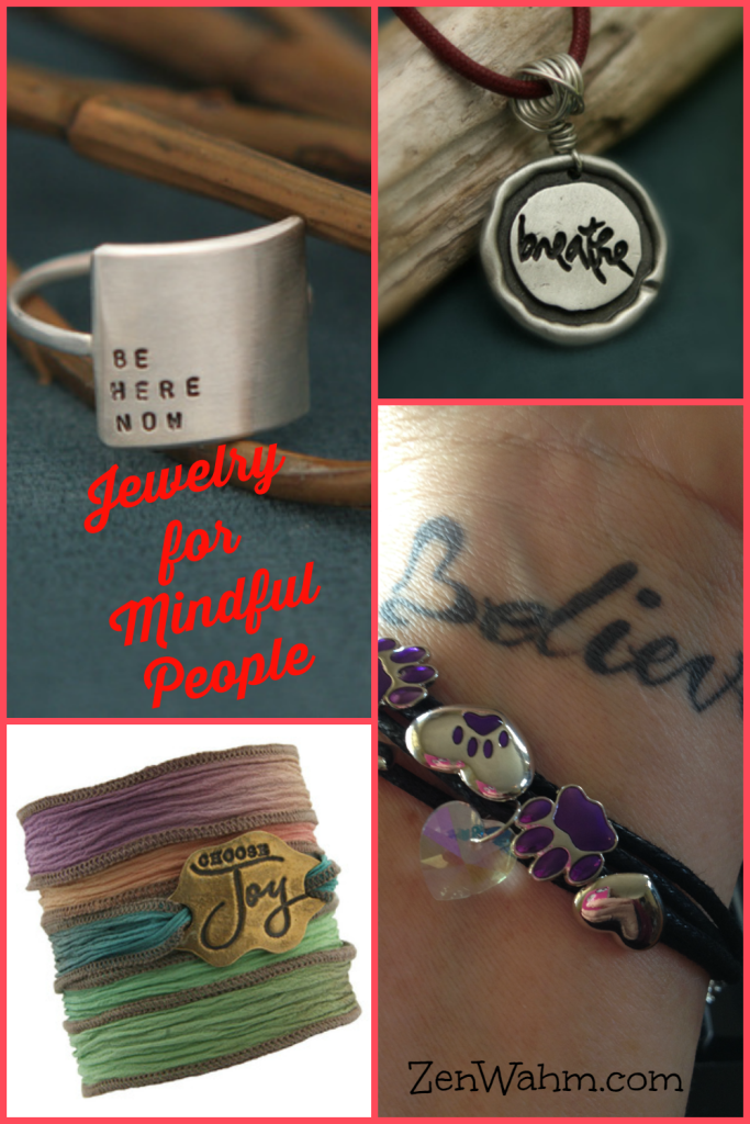 Inspirational jewelry to help you remember to remember. ZenWahm.com