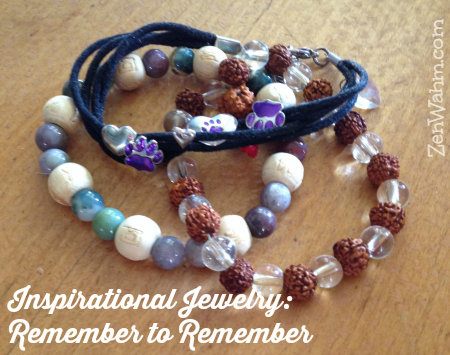 Jewelry to support your mindfulness practice. ZenWahm.com #zenwahm
